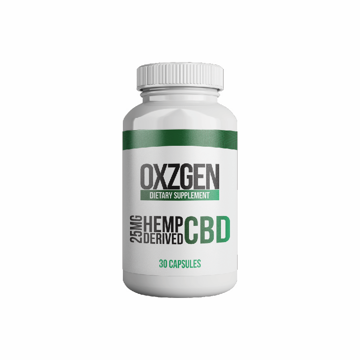 Picture of 25 mg CBD Capsules