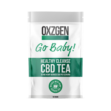 Picture of Go Baby! Healthy Cleanse CBD Tea