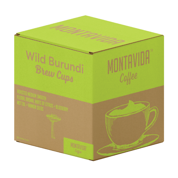 Picture of MontaVida Wild Burundi Coffee Brew Cups