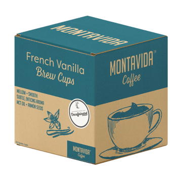 Picture of MontaVida Decaf French Vanilla Brew Cups