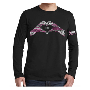 Picture of Pink Ribbon Heart Word Unisex Shirt